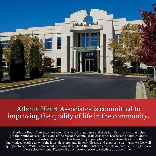 Atlanta Heart Associates Full Page Ad Design