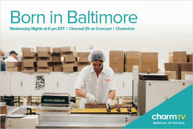 Charm TV Born in Baltimore Wokenfuss Poster Design