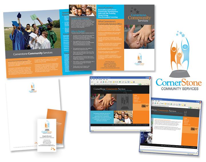 Cornerstone Community Services Branded Elements