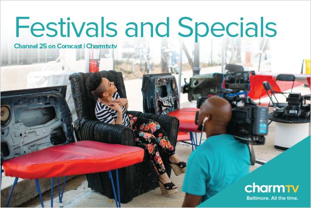 Charm TV Festivals and Specials Poster Design