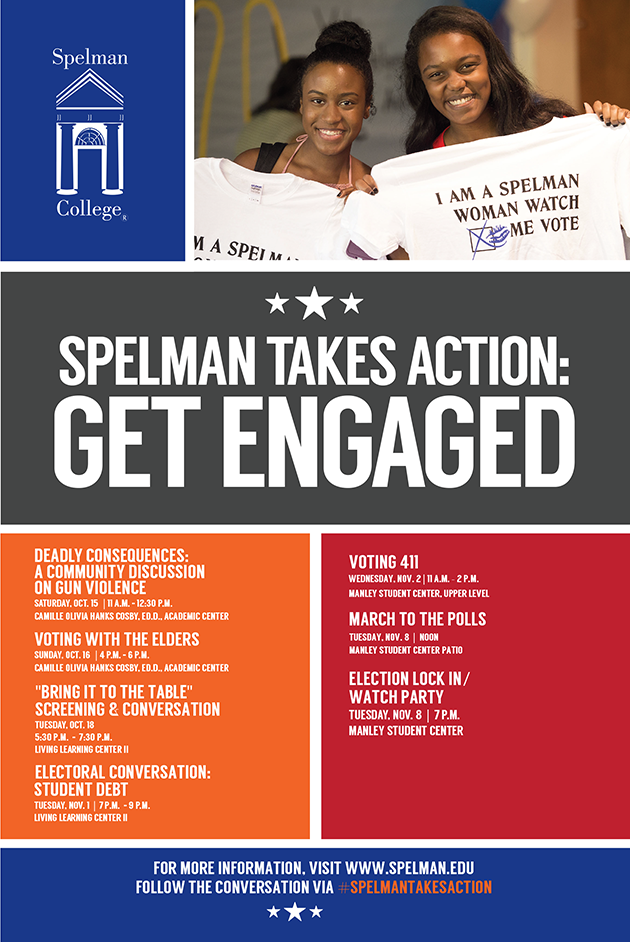 Spelman College Poster Design