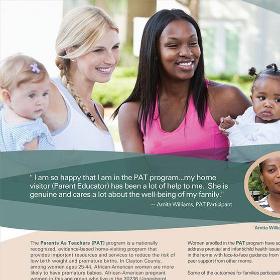 Clayton County Board of Health MOM's Ad